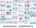bundle infographic elements... | Shutterstock .eps vector #1634441671