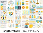 bundle infographic elements... | Shutterstock .eps vector #1634441677
