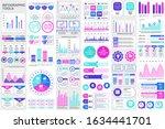 bundle infographic elements...   Shutterstock .eps vector #1634441701