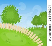 cartoon background.   Shutterstock .eps vector #163446374