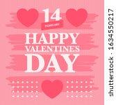 Happy Valentines Day. Celebrat...