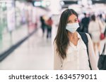 Coronavirus Asian Woman Walkin...