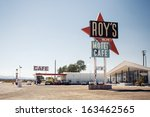 amboy  ca  usa   july 31 ... | Shutterstock . vector #163462565