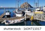 Morro Bay  California  Usa...