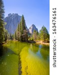 Yosemite Merced River And Half...