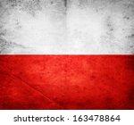 Poland Flag  Grunge And Retro...