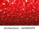 red shiny glitter holiday... | Shutterstock . vector #163485695