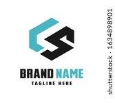 business logo design letters ls   Shutterstock .eps vector #1634898901