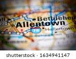 Allentown. Pennsylvania. Usa On ...