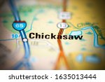 Chickasaw On A Geographical Ma...