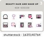beauty hair and make up flat ...