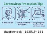 coronavirus covid 19 ... | Shutterstock .eps vector #1635194161