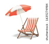 3d realistic vector vacation... | Shutterstock .eps vector #1635274984