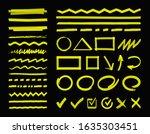 highlight marker design... | Shutterstock .eps vector #1635303451