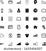 business vector icon set such...