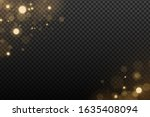 effect lights bokeh on a... | Shutterstock .eps vector #1635408094