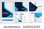 multi page business brochure...   Shutterstock .eps vector #1635412351
