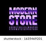 vector stylish logo modern... | Shutterstock .eps vector #1635469201