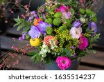 Colorful Spring Bouquet From...