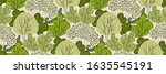 Seamless Pattern With Green...