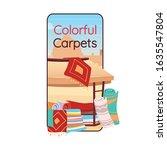 colorful carpets cartoon...