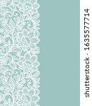 template frame  design for card.... | Shutterstock .eps vector #1635577714