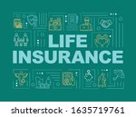 life insurance word concepts...
