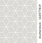 white  gray modern geometric... | Shutterstock .eps vector #163577819