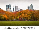 Central Park And Its Autumn...