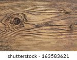 Old Plank  With Wood Knots And...
