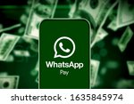 Smart Phone With The Whatsapp...