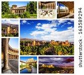 Alhambra Collage  Granada ...