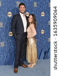 Small photo of LOS ANGELES - JAN 08: Owain Yeoman arrives for the ABC Winter TCA Party 2020 on January 08, 2020 in Pasadena, CA