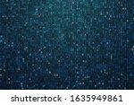 big genomic data visualization. ... | Shutterstock .eps vector #1635949861