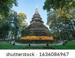 Old Brick Stupa Of Wat Or...