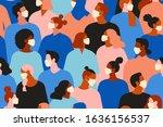 coronavirus in china. novel... | Shutterstock . vector #1636156537