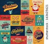 Christmas Set   Labels  Emblem...