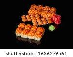 philadelphia california set...   Shutterstock . vector #1636279561
