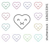 emoji enjoy multi color style...