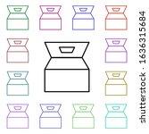 food  box multi color style...