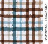 gingham seamless pattern.... | Shutterstock .eps vector #1636344364