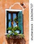 Italian Style Building Facade...