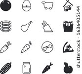 Food Vector Icon Set Such As ...