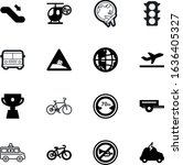 sport vector icon set such as ...   Shutterstock .eps vector #1636405327