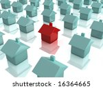 red house | Shutterstock . vector #16364665
