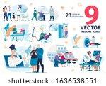 medical help  hospital or...   Shutterstock .eps vector #1636538551