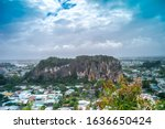 sight of the marble mountains...   Shutterstock . vector #1636650424