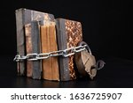 Old Books Strapping A Shiny...