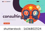 responsive landing page and one ...   Shutterstock .eps vector #1636802524