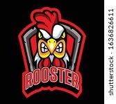 Set Rooster Chicken Logo Emblem ...
